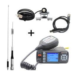 Upgrade von BJ-218 Baojie BJ-318 Walkie Talkie Mini Dual Band VHF UHF Mobile Radio 20/25W 10 km auto Radio 10 KM Two Way Radio