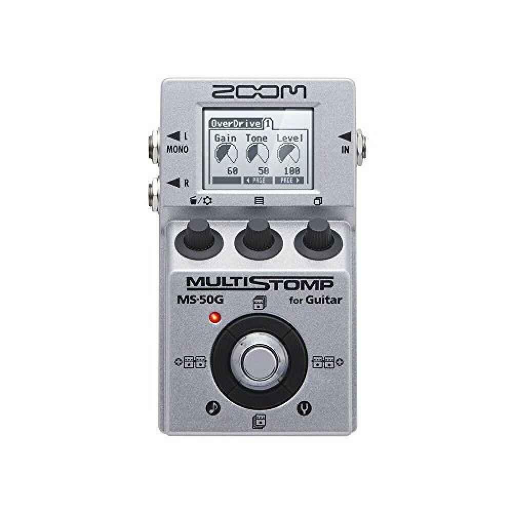 Zoom MS-50G-MultiStomp çok gitar efekt Pedal MS50G yeni F/S izleme