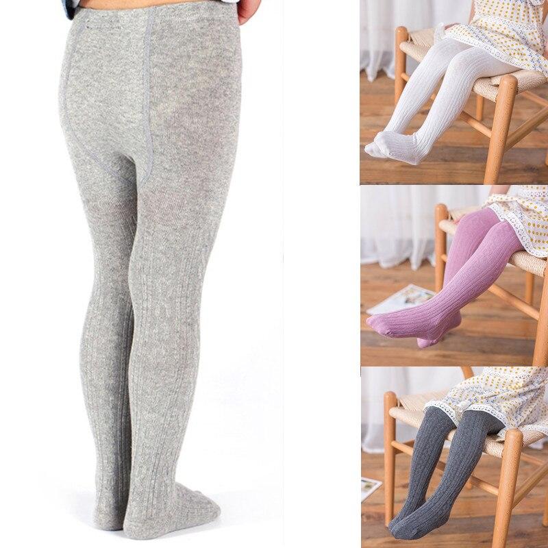 Warm Leggings Girl Kids Pantyhose For Girls Children Long Skinny Elasticity Girls Leggings 2 To 8 Years