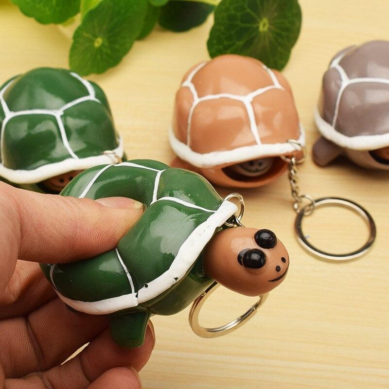 Turtle Vent Ball Hand Pinch Antistress Relief Decompression Mischievous Creative New Strange Cute Fun Children Adult Trick Toys
