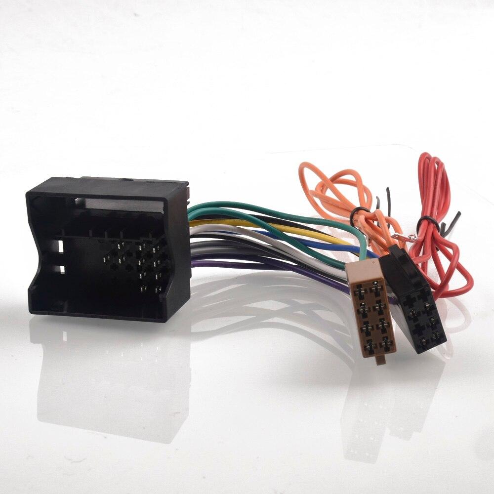 Car Radio ISO Adapter Switch Cable For Opel Astra H Corsa C Antara Combo Meriva Zafira For Vauxhall Agila Movano