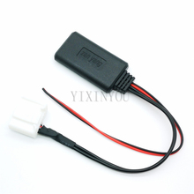 Беспроводной bluetooth-модуль аудио выходом, управляемая через телефон музыка Вход Aux адаптер для Пластиковая пилочка для ногтей Tacoma 4runner RAV4
