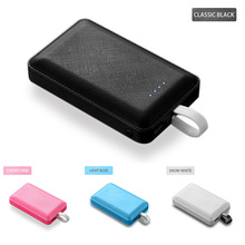 20000 mAh Portable Mini Power Bank Fast Charger PowerBank Built in 3 Cables External Battery Pack For iPhone Xiaomi Mi Poverbank hcigar akso plus pod kit 850 mah built in battery