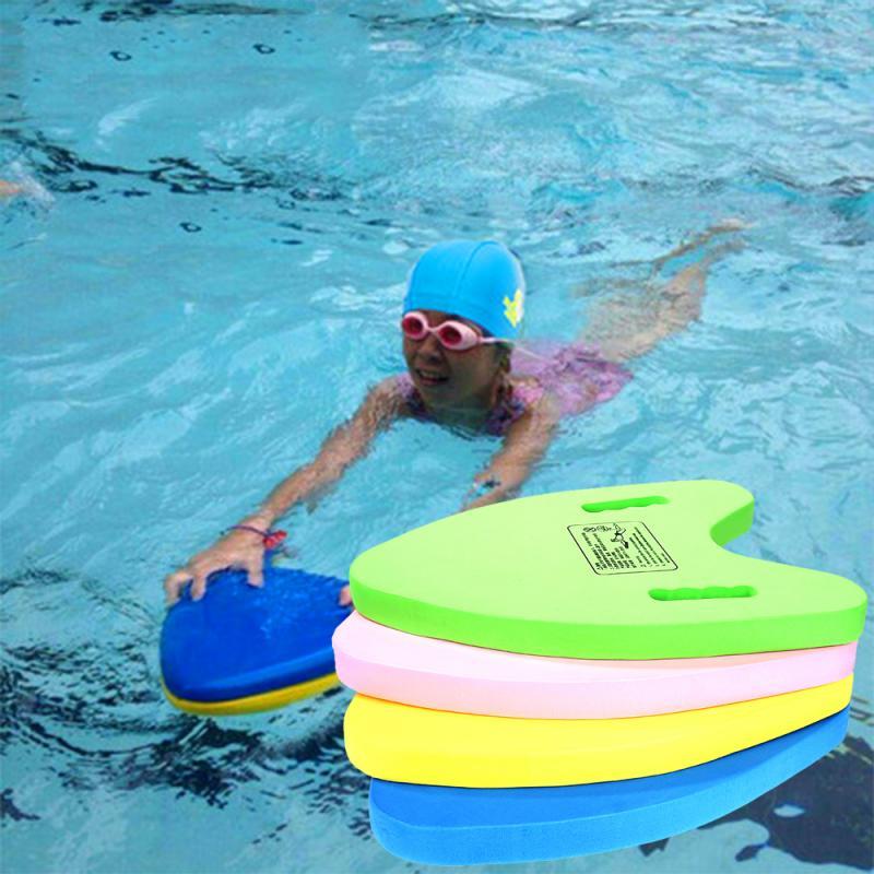 Summer Lightweight A Shape EVA Swimming Board Floating Plate Back Float Kickboard For Adult Children Pool Training Aid Tools