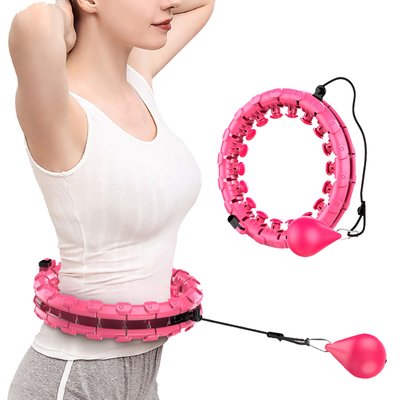 New Design Non Dropping Hoop Yoga Waist Exercise Slimming Sport Hoops for Kids Adult Loose Weight At Home|Body shaping Massage Equipment|   - AliExpress