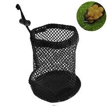 Новая черная сетчатая сумка для мячей гольфа прочная нейлоновая