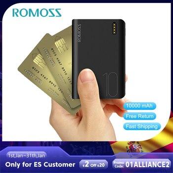 ROMOSS Sense4 Mini Power Bank 10000mAh Fast Charge Powerbank 10000mAh Portable External Battery Char