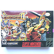 Breath Of Fire II with box 16bit  game cartidge US Version