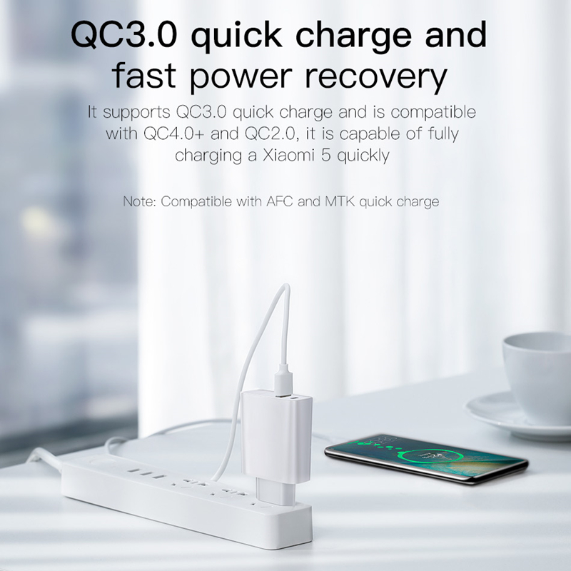 Image 4 - Baseus Quick Charge 4.0 3.0 USB Charger Type C QC 4.0 3.0 Charger for Samsung s10 plus 18W PD 3.0 Fast Charger for iPhone 11 Pro-in Mobile Phone Chargers from Cellphones & Telecommunications