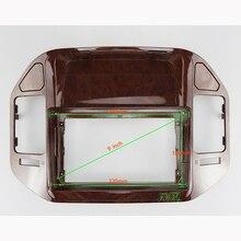 9 인치 자동차 오디오 프레임 GPS 네비게이션 근막 패널 자동차 dvd 플라스틱 프레임 근막은 2004 2011 미쓰비시 V73 pajero에 적합합니다