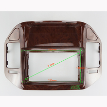 Fascia-Panel Car-Audio-Frame MITSUBISHI Navigation PAJERO 9inch Plastic GPS Dvd V73 Suitable-For
