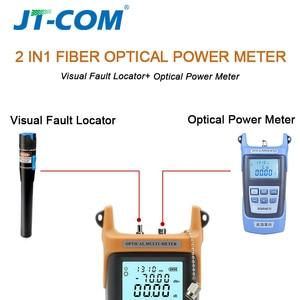 Image 2 - 2 in1 Localizador visual de falhas ópticas do medidor de potência óptica Testador de cabo de fibra óptica  70 a + 3dBm 15mW com 15 km Localizador visual de falhas para testador de deterioração da luz da fibra