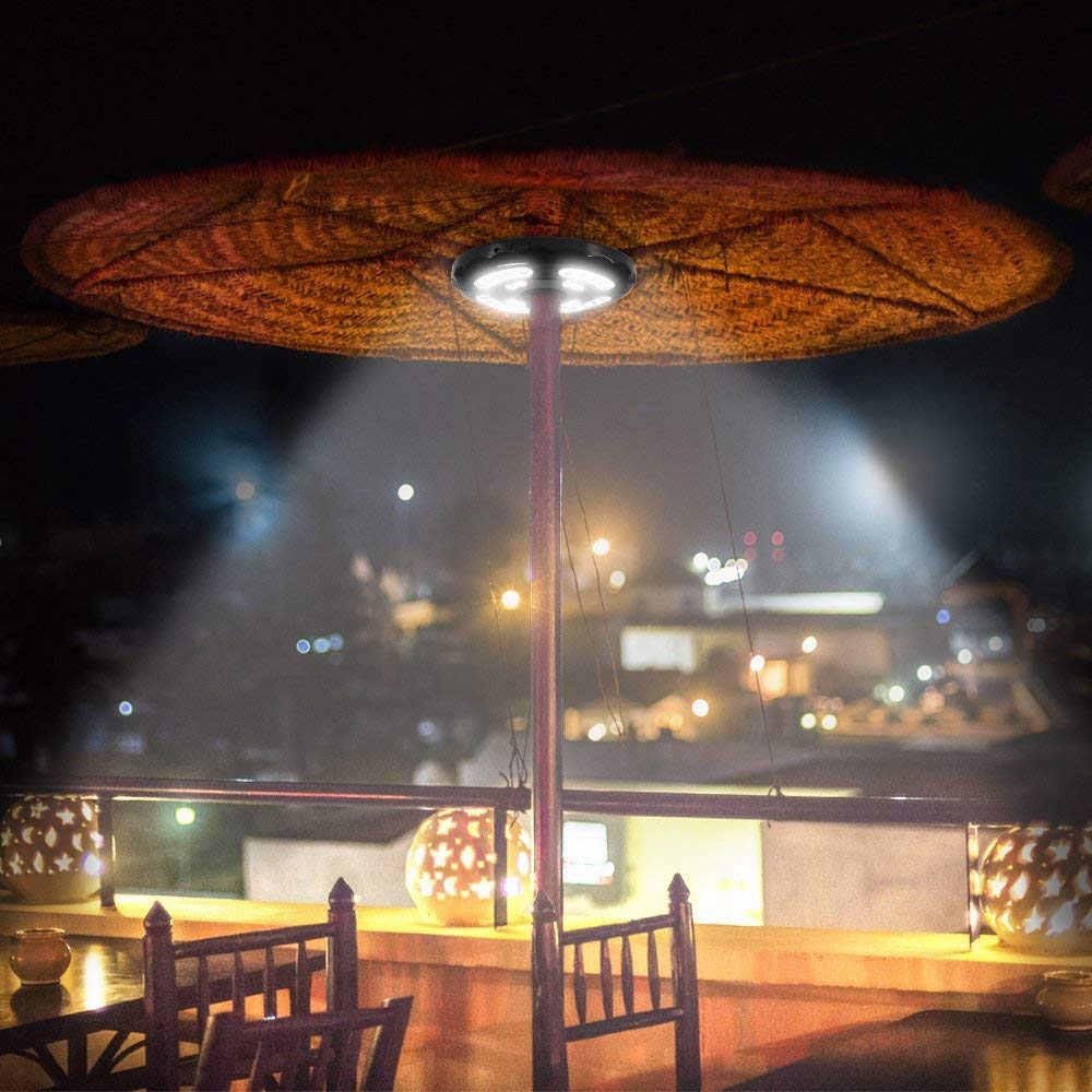 400lm Patio Umbrella Lights