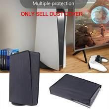 Mais novo dustproof capa para ps5 console do jogo lavável à prova de poeira capa protetor para playstation 5 ps5 jogos acessórios de jogos