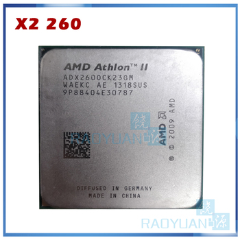 Processeur dunité centrale double cœur AMD Athlon II X2 260 3.2GHz ADX260OCK23GM Socket AM3 938pin