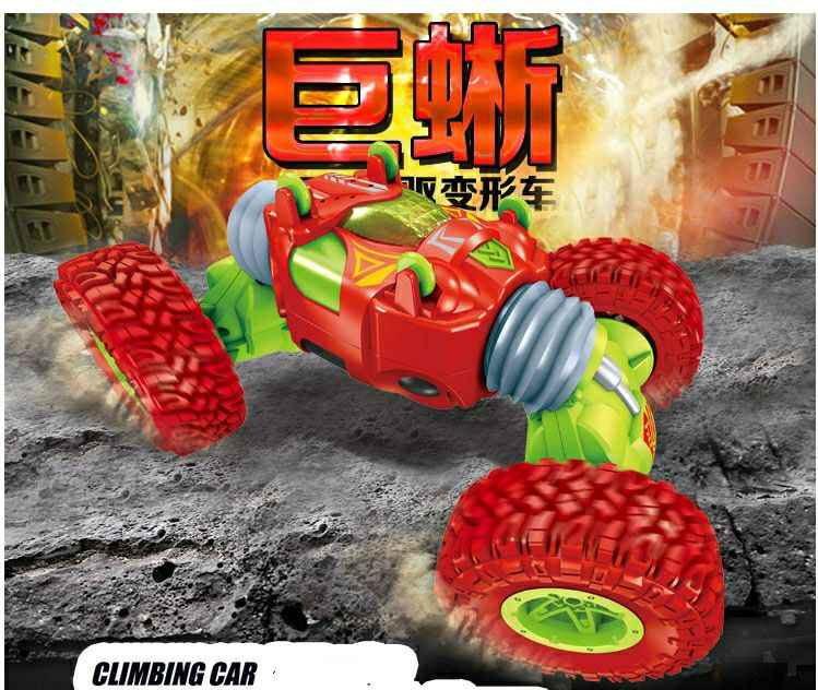 RC רכב דו צדדי 2.4GHz אחד מפתח להפוך כל השטח הר כביש טיפוס רכב מרחוק בקרת רכב צעצוע לילדים