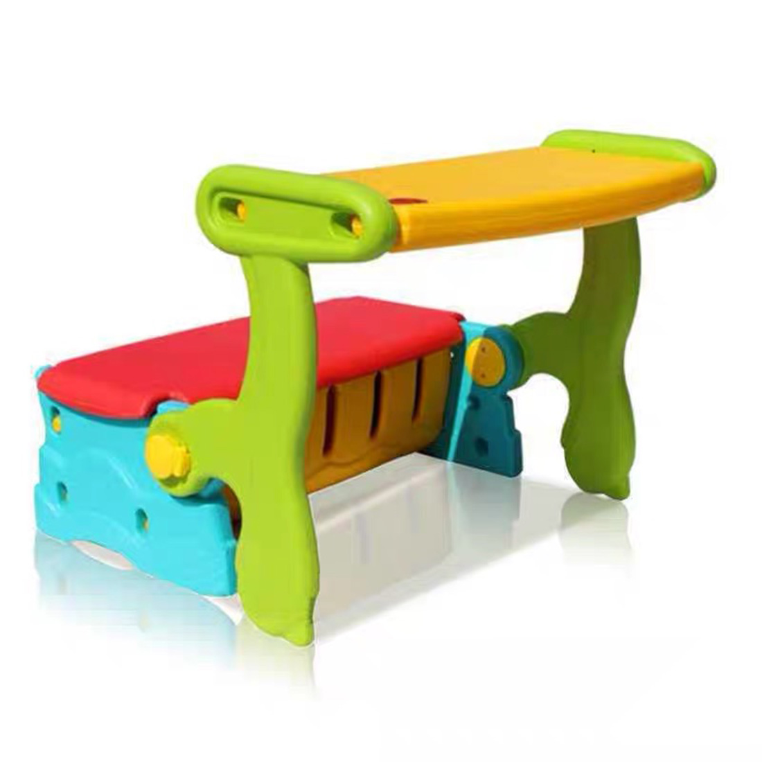 3-In-1 Multi-Function Kids Study Table And Chair Switching Chair Children Armchair Toddler Seat Kids Baby Safety Table Chairs
