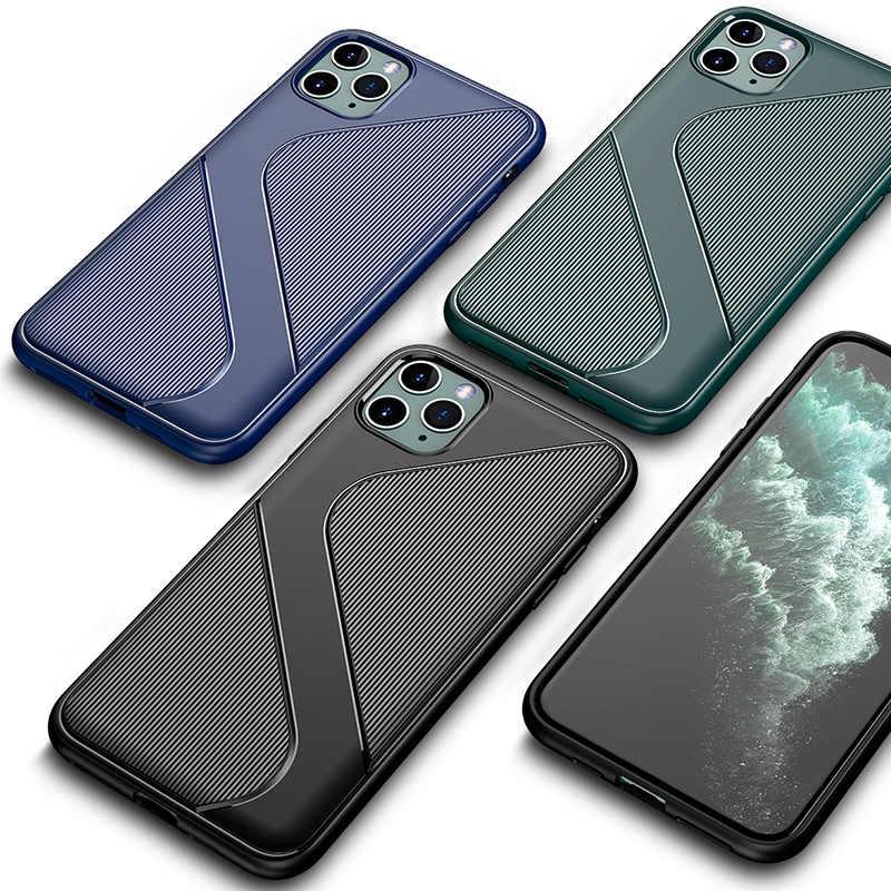 YKZ etui na telefon iPhone 11 Pro Max etui na iPhone XR XS X 10 7 8 6 6S Plus etui silikonowe miękkie luksusowe Coque shell Funda