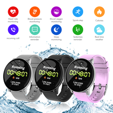 цена на Smart Watch Heart Rate Monitor Color Screen Fitness Watch Call Reminder Waterproof Bluetooth Band Forecast