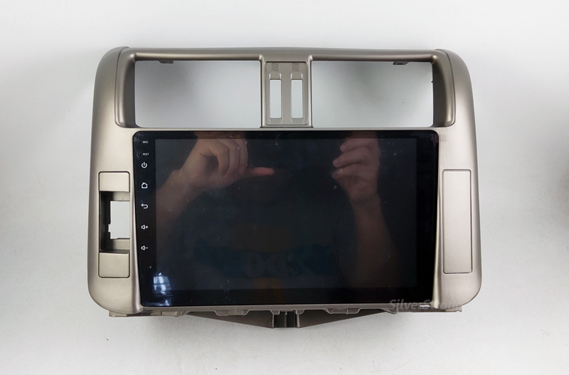 Cheap SilverStrong IPS 9inch Android9.0 4G modem Car DVD for Toyota Land cruiser Prado 150 LC150 GPS 2010 2011 2012 2013 Radio no DVD 16