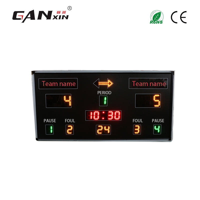 GanXin New Products Led Basketball Competition Scoreboard The Score Card High Quality Promotion In December