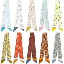 Модный милый простой разнообразный шарф с принтом животных ручка