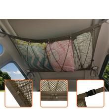 Organizer Net-Bag Car-Trunk-Storage-Pouch Pocket-Roof-Interior Cargo Portable