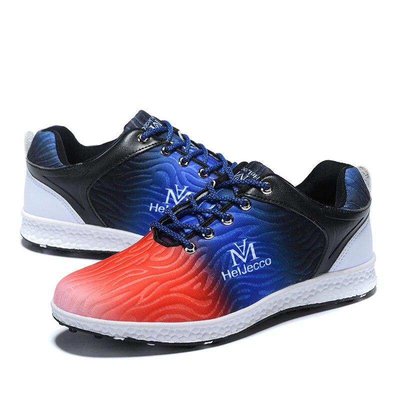 Sapatos de Golfe Resistente ao Desgaste à Prova Tênis ao ar Sapatos Femininos Antiderrapantes Dwaterproof Água Colorido Casuais Confortáveis Senhoras Livre