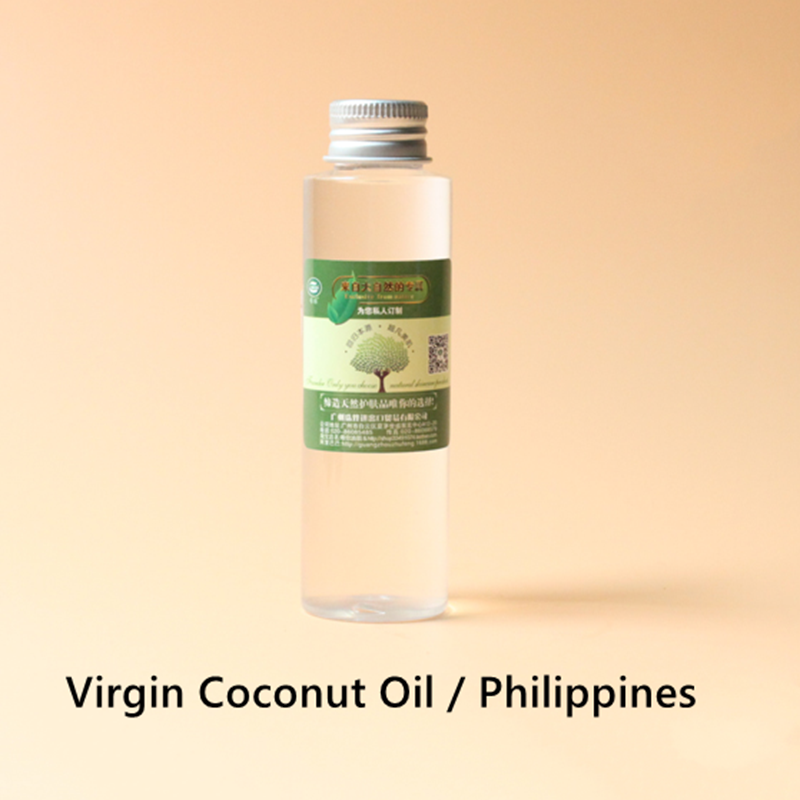 Купить с кэшбэком Virgin Coconut Oil Philippines, smooth skin, anti-oxidation, anti-aging and whitening, lauric acid enhances resistance