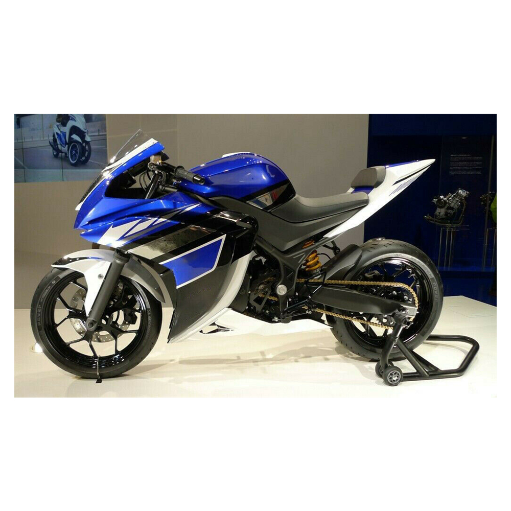 Blue White Black Motorcycle Injection Fairing Kit Cowl Complete Bodywork For Yamaha YZF R3 R25 2017 2015 2016