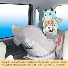 Baby Safety Rearview Mirror Haha Car Reverse Seat Observation Large Field Of View Auxiliary
