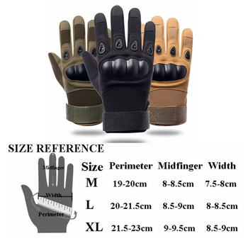Military Tactical Full Finger Army Gloves Outdoor Sports Airsoft Paintball Fishing Riding Cycling Combat Hiking Hunting Gloves 6