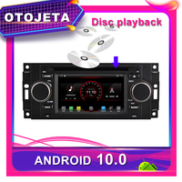 OTOJETA Car DVD Android 10.0 Car GPS for CHRYSLER 300C 2005 2007 5inch Car Radio Multimedia tape recorder bluetooth navigation