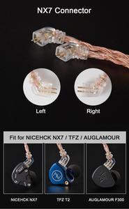 Image 5 - NICEHCK C16 3 16 noyaux câble cuivre haute pureté 3.5/2.5/4.4mm prise MMCX/2Pin/QDC/NX7 broche pour ZSX C12 C9 TFZ NICEHCK NX7 Pro/DB3