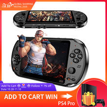 X12 Game Video Games Handheld Game Console for PSP Retro Dual Rocker Joystick 5.1 inch Screen TV Game Player for SFC/GBA/NES/Bin