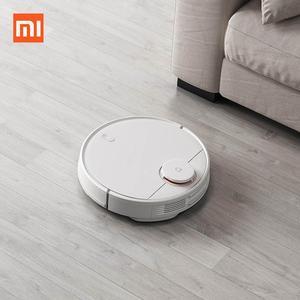 Image 2 - Xiaomi Mijia גורף לשטוף רובוט STYJ02YM Mi שואב אבק לבית אוטומטי אבק לעקר חכם מתוכנן WIFI APP בקרה
