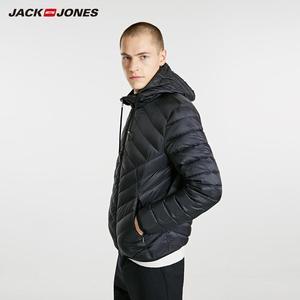 Image 1 - JackJones erkek hafif taşınabilir aşağı ceket parka ceket erkek giyim 218312510