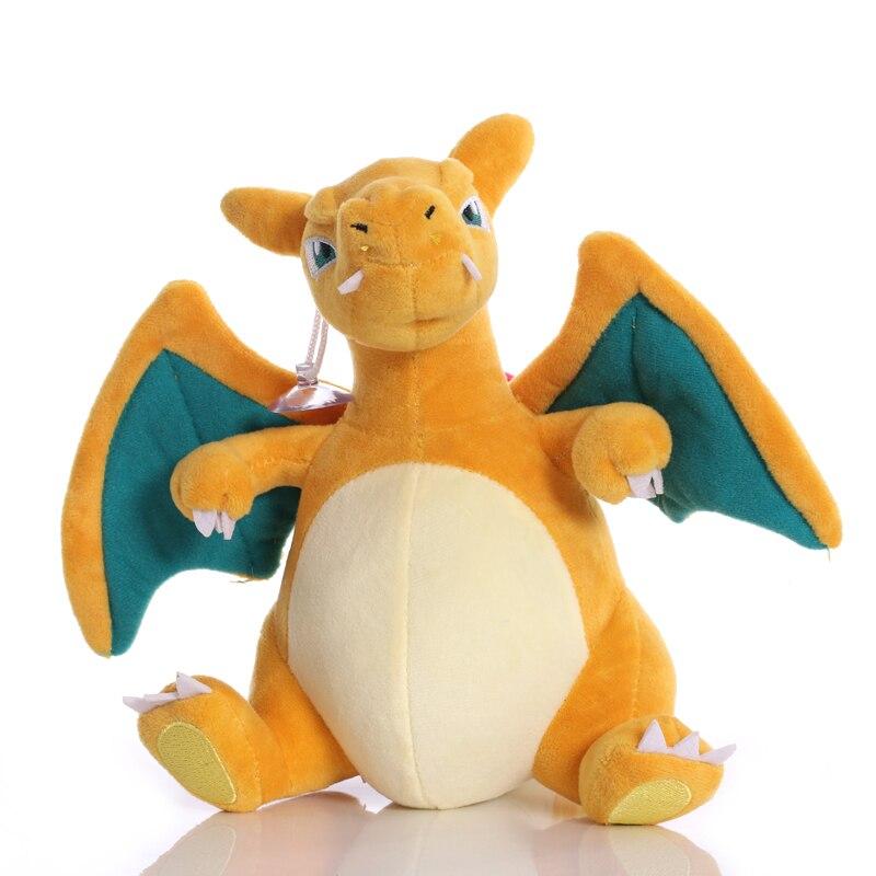 20 см TAKARA TOMY Charizard плюшевые игрушки мягкие игрушки-животные куклы Подарки для детей