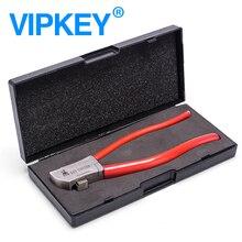 Vipkey 원래 lishi 키 커터 자물쇠 자동차 키 커터 도구 자동 키 커팅 머신 자물쇠 도구 플랫 키 직접 잘라 내기