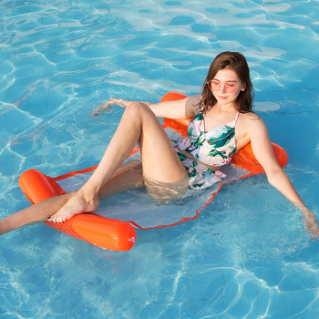 Inflatable Mattress Swimming Pool Game Toy Adult Buoy Summer Toys Water Fun Play Floating Row