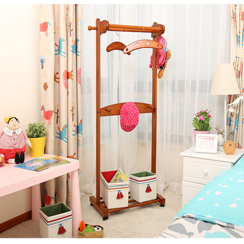 Innis solid wood children's coat rack landing bedroom cartoon coat rack creative imported three years of quality assurance
