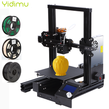 YIDIMU 1S PLA Filament Aluminium Alloy High Precision FDM 3D Printer DIY Kit Self-assemble 220 * 220 * 250mm with Resume Printer high qualtiy wanhao high precision d4s industrial 3d digital laser metal printer for sale with free tool bag sd card filament