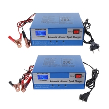 New 1 Pc DC 12V/24V Automatic Quick Battery Charger Intelligent Pulse Repair Auto Car Storage EU/US Plug High Quality