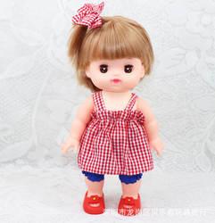 Аксессуары для кукольной одежды mi Lu, xiao joan mi ro, комплект из трех предметов: платье и шорты, прямые продажи с фабрики