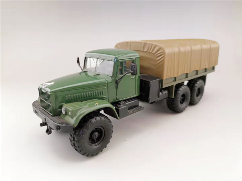 Classic 1:43 Russia Kraz Off-Road Truck Alloy Model,simulation Collection Gift,die-cast Metal Car Model,free Shipping