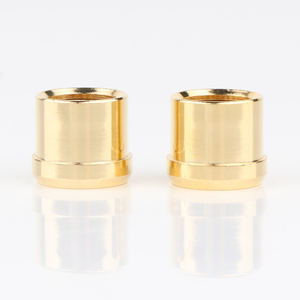 Image 4 - 8Pcs gold überzogene Kurzschluss Buchse Phono Stecker RCA Abschirmung jack buchse schützen abdeckung caps