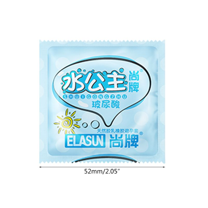 50 100Pcs Ultra Thin Hyaluronic Acids Condoms Natural Latex Smooth Condom Sex Toys for Men Products in Condoms from Beauty Health