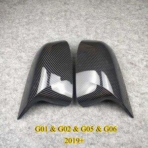 Image 2 - Coppia di accessori per auto coperchio specchietto retrovisore materiale ABS adatto per X3 X4 X5 X6 F25 G01 F26 G02 E70 F15 G05 E71 F16 G06