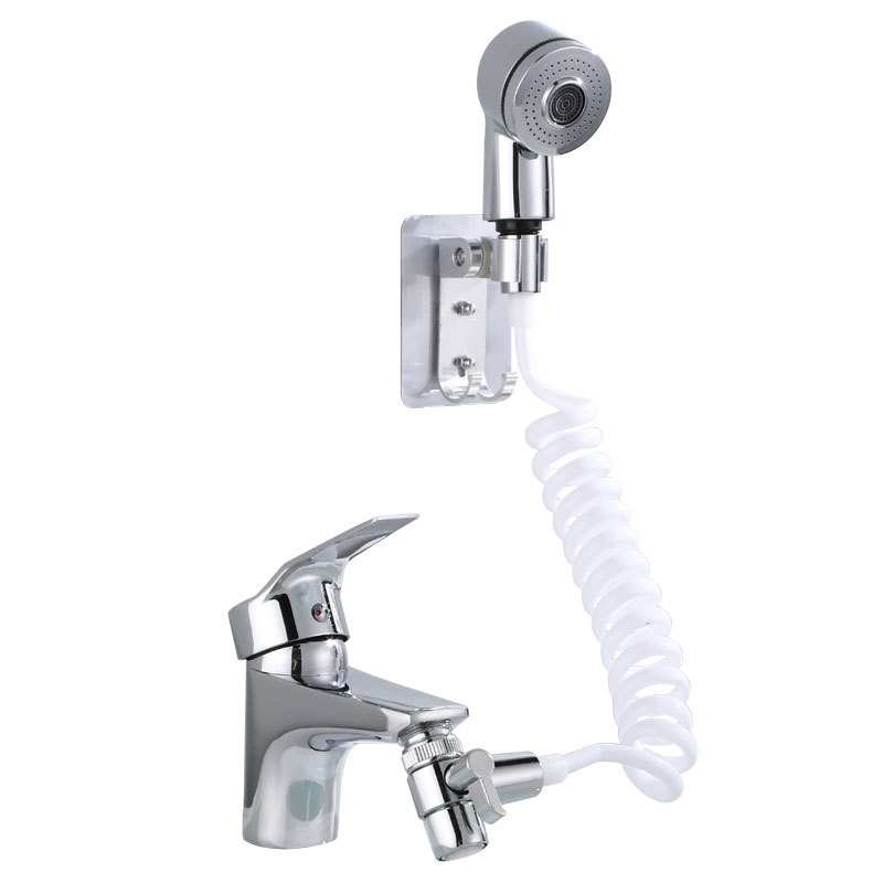 Bathroom Water Faucet External Shower Head Toilet Wash Basin Extend Wash Hair Artifact Hold Small Nozzle Wash Hair Shower