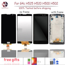 "10Pcs 5.0"" For LG Magna G4c H525N H525 H522Y H520Y H500 H502 No dead pixel LCD Display Screen Touch Panel Digitizer Assembly(China)"